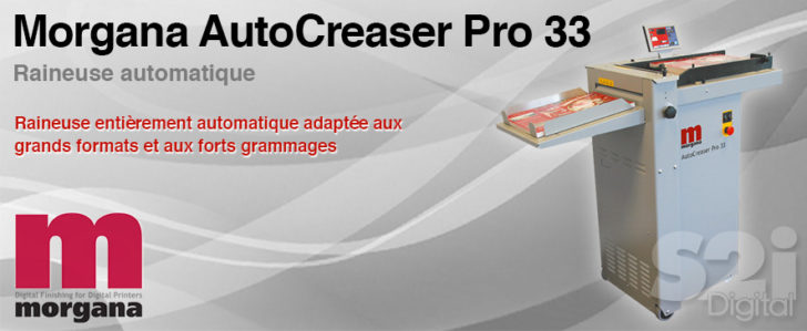 Raineuse automatique Morgana AUTOCREASER PRO 33
