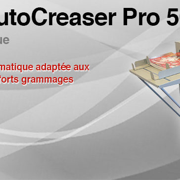 Raineuse automatique AUTOCREASER PRO 50