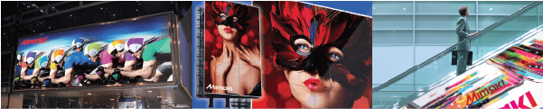 Mimaki JV400SUV - Applications