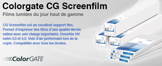 ColorGATE CG Screenfilm