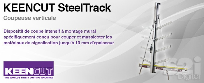 Keencut SteelTrack - Coupe verticale