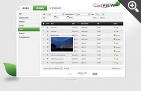 Caldera - Capture Cost View Interface
