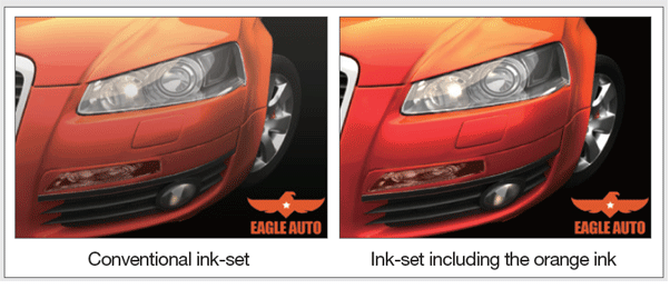 Mimaki CJV150 - Encre orange