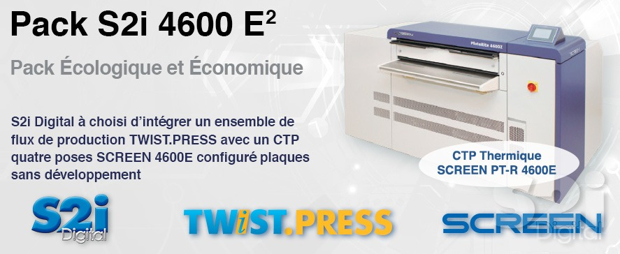Pack s2i Screen PT-R 4600E CTP thermique
