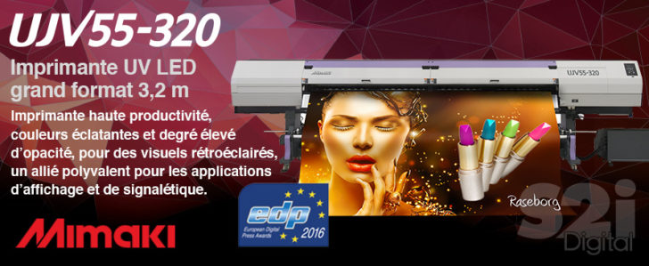 Imprimante UV-led Grand format Mimaki UJV55-320